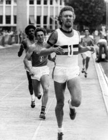 BRU17-20000822-MONTRTEAL, CANADA: SPECIAL RETRO BELGIAN OLYMPICS, FILE PICTURE of Belgian runnerIvo Van Damme winnir of silver medals at the 800 m and the 1500m at the olympic games in Montreal in 1976. Belga Photo Archive